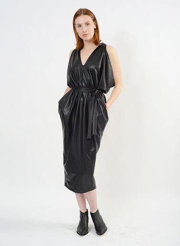 Pleather Airflow Dress