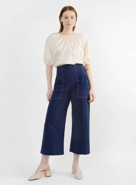 Stitched Harold Pant - Navy