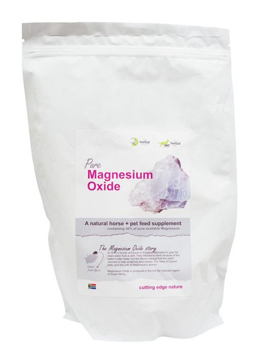 Herbal Horse Magnesium Oxide (1kg)