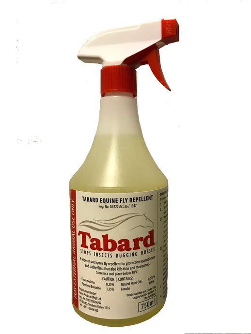 Tabard Equine Fly Repellent (750ml) | Equestrian Serenity