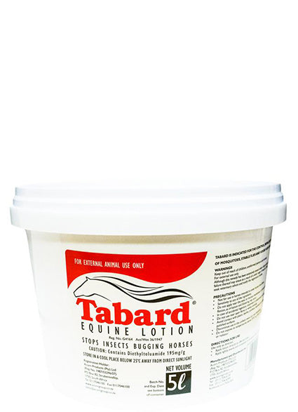 Tabard Equine Lotion (5L)