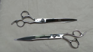 "8"" Sword Curved and Straight Shears with Ergonomic Handle"