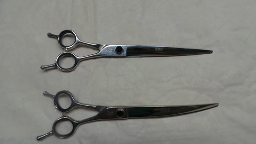 8 inch Twisted Flip Handle Shears