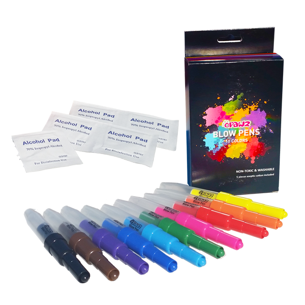 OPawz Blow Pen 10 Pack