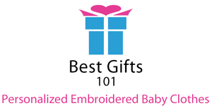 Personalized Embroidered Baby Clothes