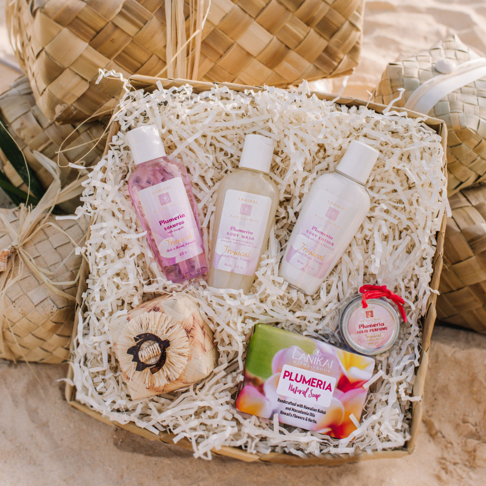 Shop online High quality Lanikai Collection, Gift set in Lauhala - Lanikai Bath and Body