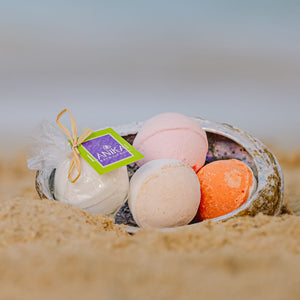 Shop online High quality Coconut Lime Bath Bomb 4.5 oz - Lanikai Bath and Body