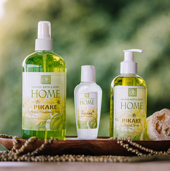 Shop online High quality Lanikai Home Pikake Mist | Soap | Sanitizer - Lanikai Bath and Body