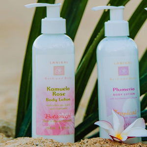 Shop online High quality Kamuela Rose Lotion 8.5 oz - Lanikai Bath and Body