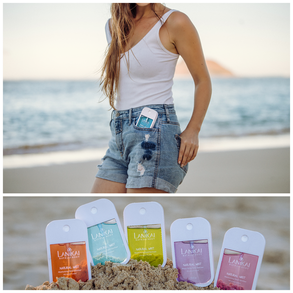 Shop online High quality Natural Pocket Mist Sanitizer - Lanikai Bath and Body