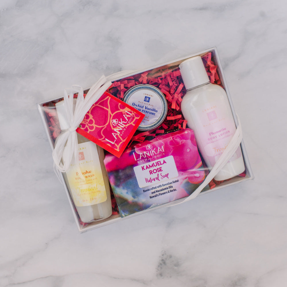 Shop online High quality Mini Sampler Set - Lanikai Bath and Body