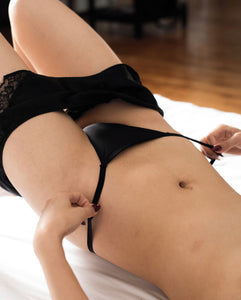 Effleure scented g-string and culotte