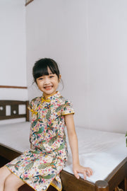 Classic Peacock Cheongsam Dress (In-Stock)