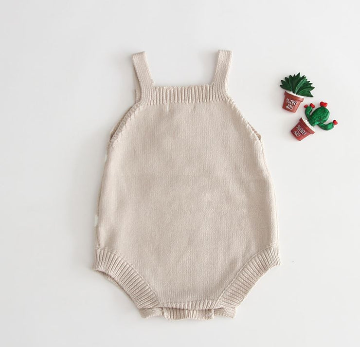 Hot Air Balloon Bodysuit in Beige