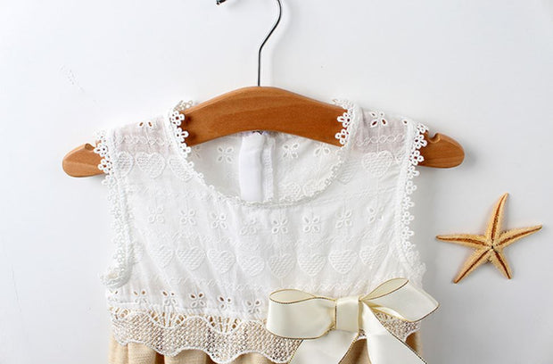 Floral Embroidered Lace Romper (In-Stock)