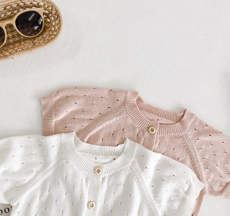 Buttoned Cotton Top