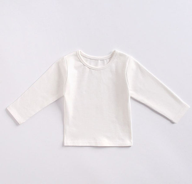 Cotton Long Sleeves Top