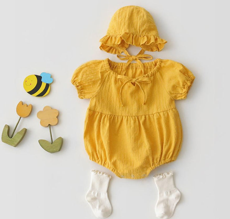 Linen Cotton Bodysuit (In-Stock)