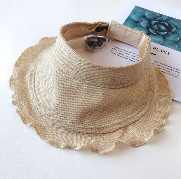 Ruffled Sun Hat