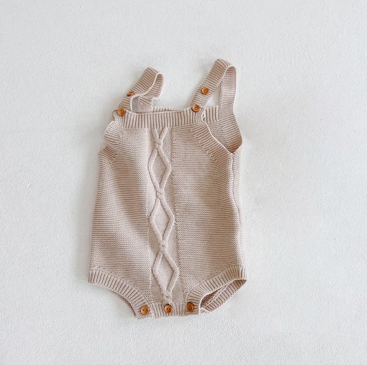 Cotton Strap Bodysuit