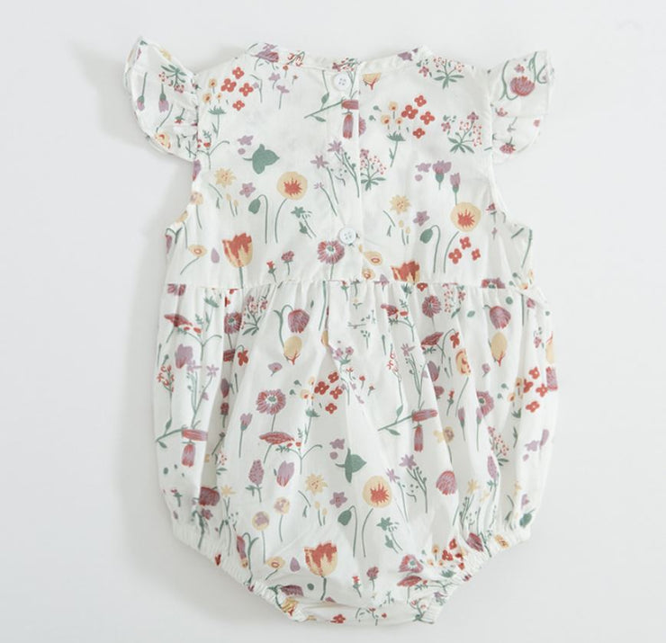 Floral Print Bodysuit (In-Stock)