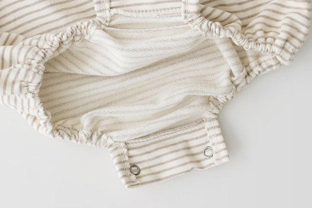 Cotton Striped Bodysuit
