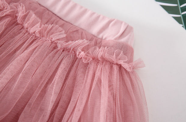Tutu Skirt Pants in Pink
