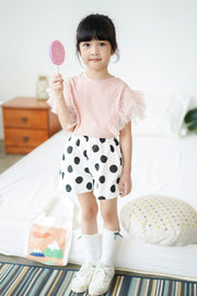 Polka Dot Wide Shorts