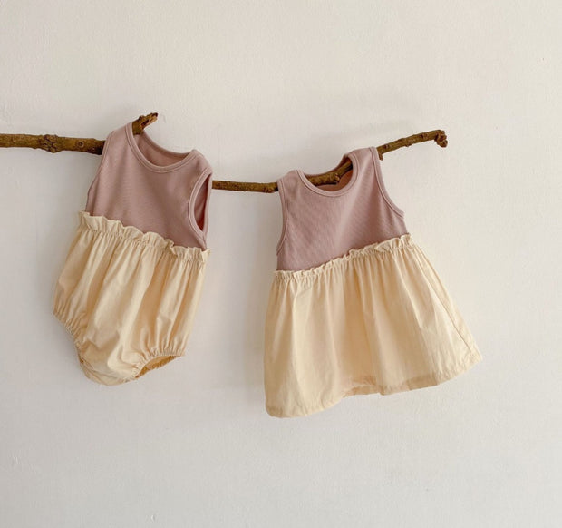 Cotton Ruffled Bodysuit