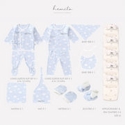 Hemito Luxury Baby Gift Set in Blue