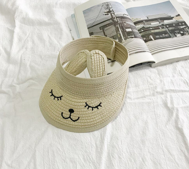 Rabbit Sun Hat in Beige