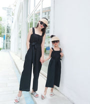 Matching Bohemian Jumpsuit in Black