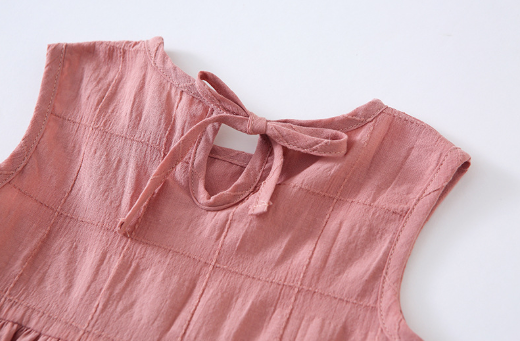 Basic Sleeveless Top in Fairy Pink