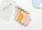 Pure Cotton Pinky Socks Set