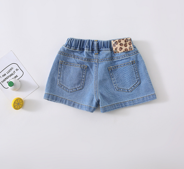Casual Denim Hot Pants