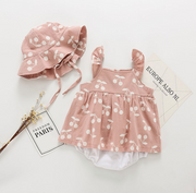 Sweet Cherry Dress Set