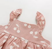 Sweet Cherry Dress Set (In-Stock)