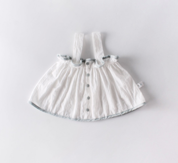 Strap Blouse with Bloomer (In-Stock)
