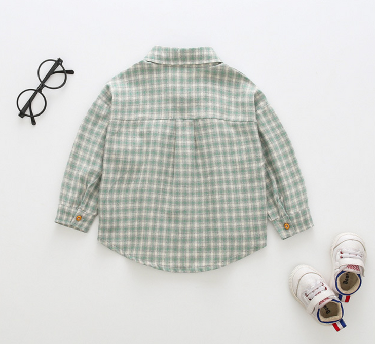 Checkered Collar Shirt