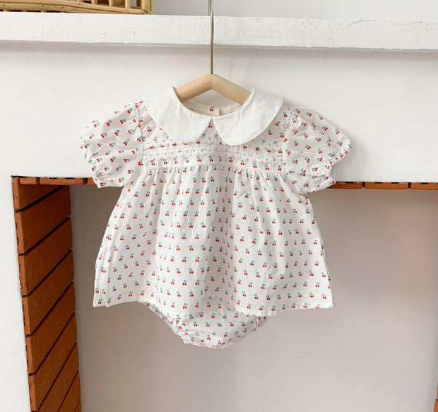 Two-Piece Cotton Bodysuit