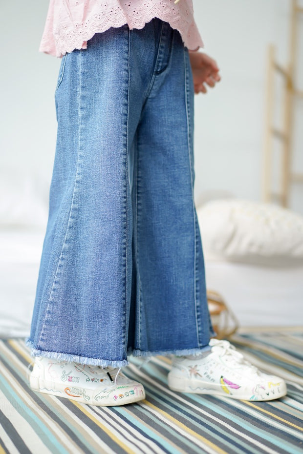 Bell Bottom Denim Jeans