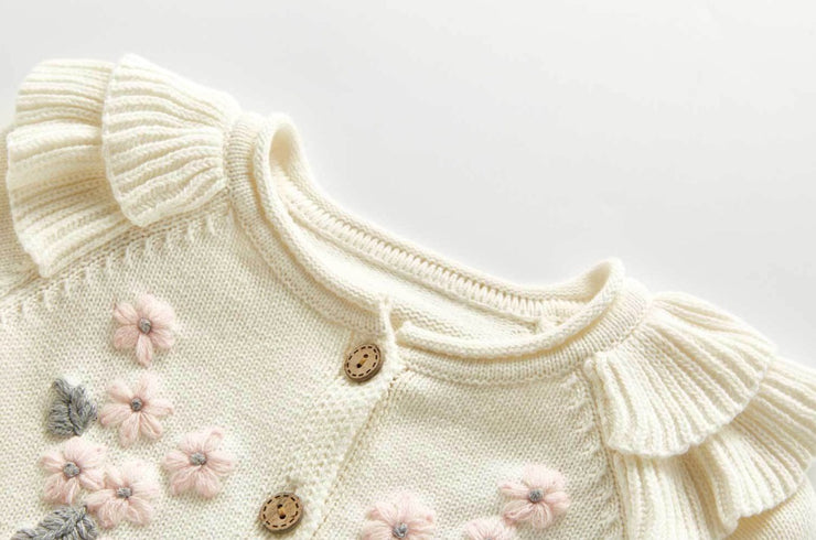 Flora Embroidered Cardigan