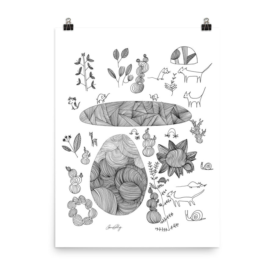 Cats and Critters Print