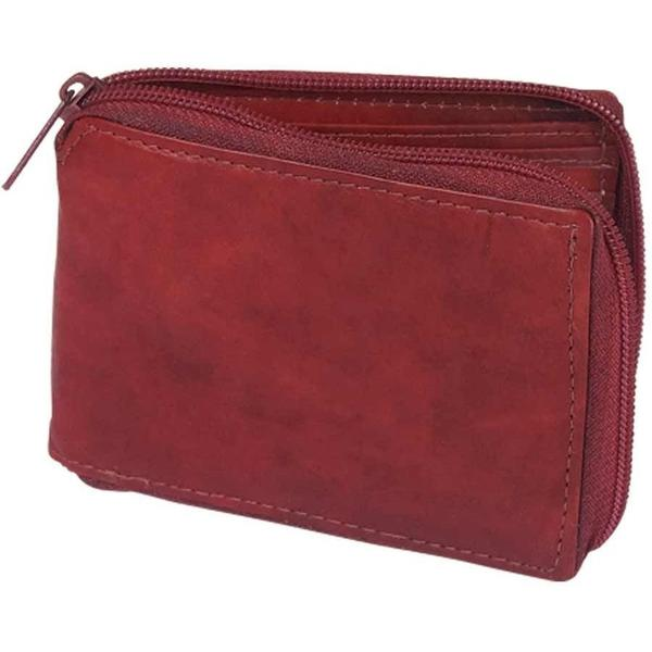 Men's Brown Sheep Leather Wallet