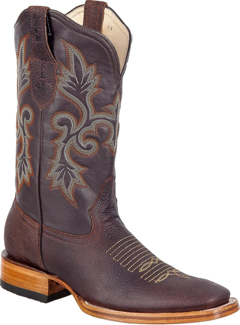 BLACK STONE Men's Brown Rodeo Boots