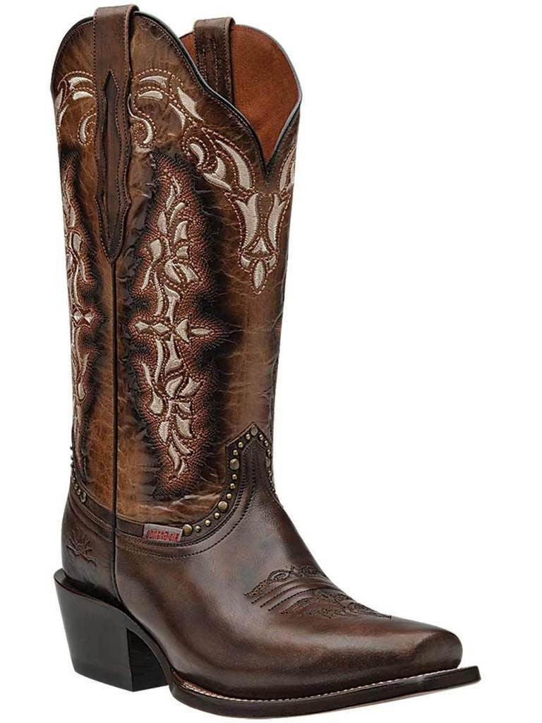 RIO GRANDE Women's Brown Western Boots - Square Toe