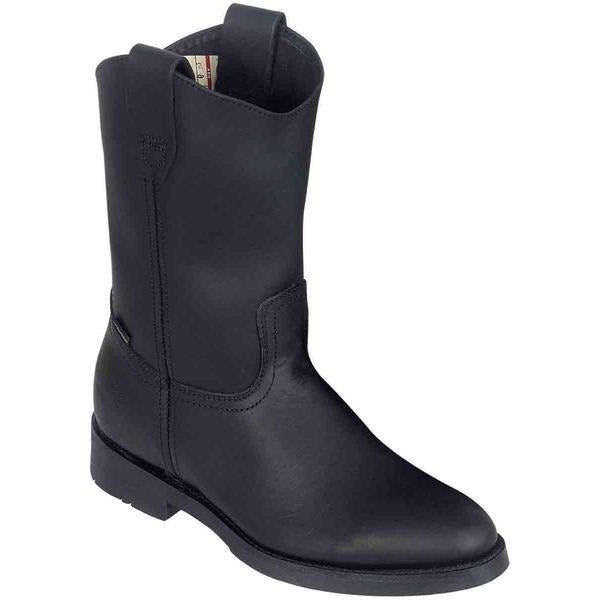 "ESTABLO Men's 10"" Black Wellington Work Boots"