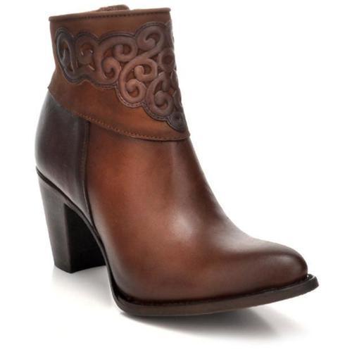 CUADRA Women's Honey Ankle Boots - Round Toe
