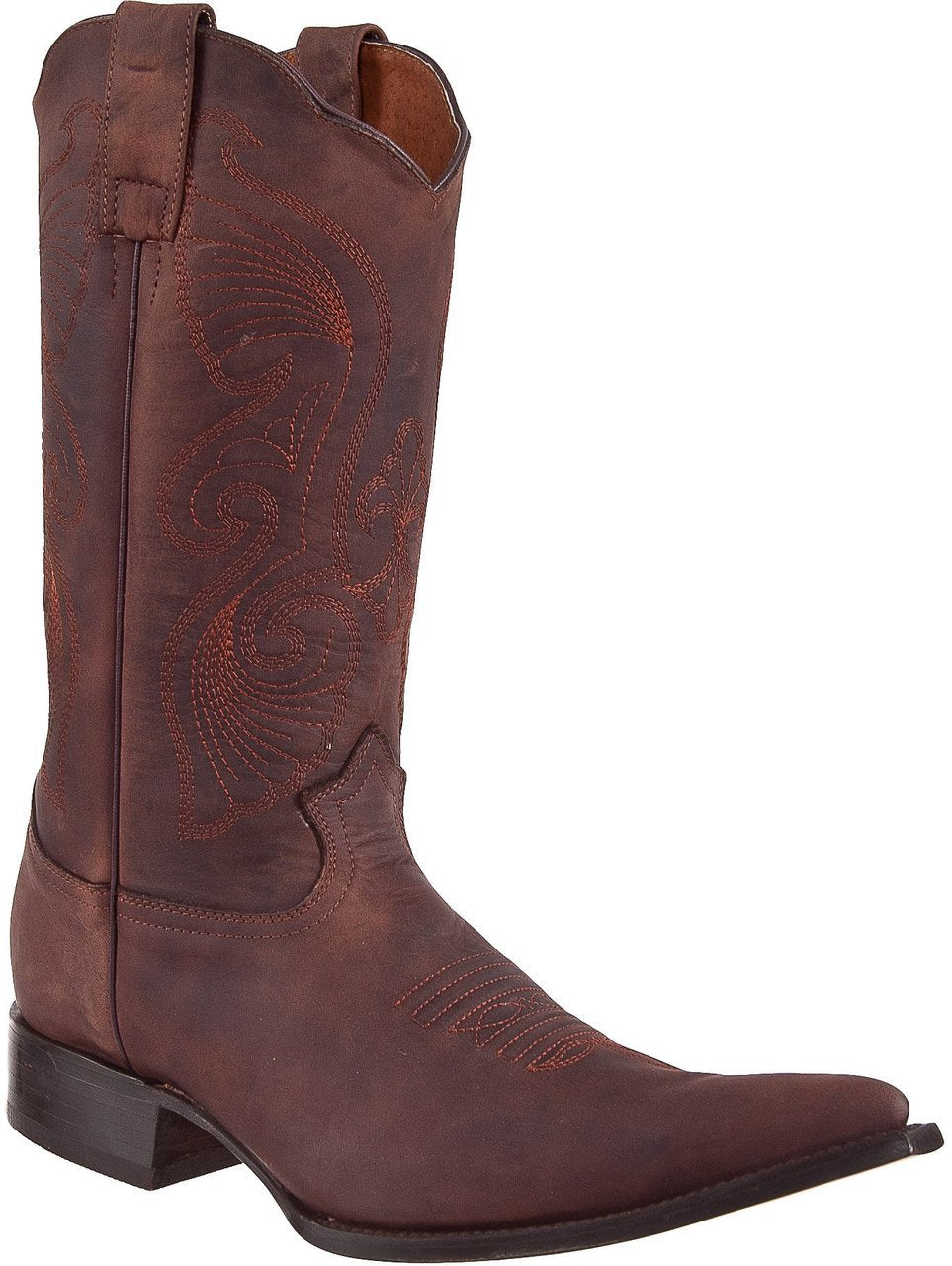 BLACK STONE Men's Golden Brown Cowboy Boots - Ch Toe