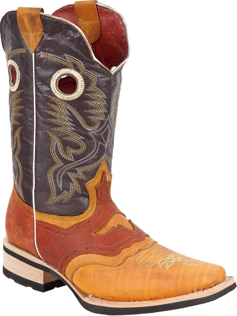 BLACK STONE Men's Buttercup Chedron Rodeo Boots